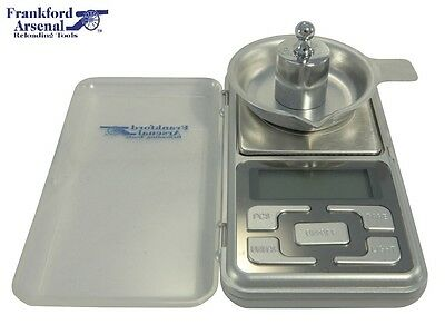 Frankford Arsenal Electronic Powder Scale 750 Grain Capacity  # DS-750   New!