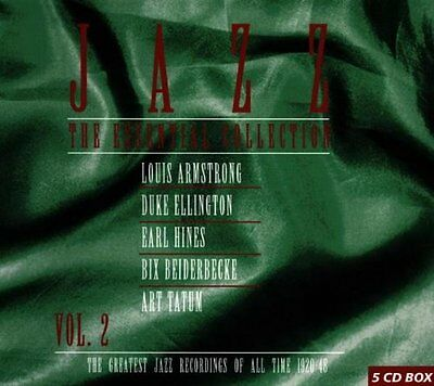 Jazz - The Essential Collection Vol. 2 (1998)  5CD Box Set  NEW  SPEEDYPOST