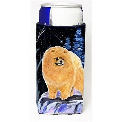 Starry Night Pomeranian Michelob Ultra bottle sleeves For Slim Cans