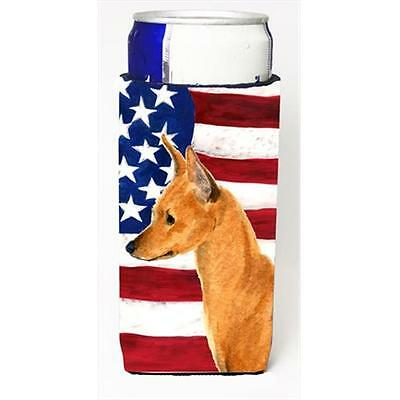 Usa American Flag With Min Pin Michelob Ultra bottle sleeves For Slim Cans