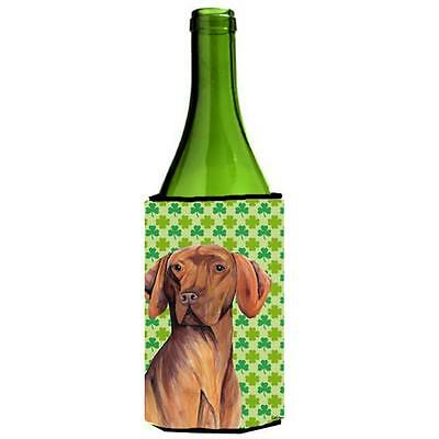 Vizsla St. Patricks Day Shamrock Portrait Wine bottle sleeve Hugger 24 oz. • AUD 48.26