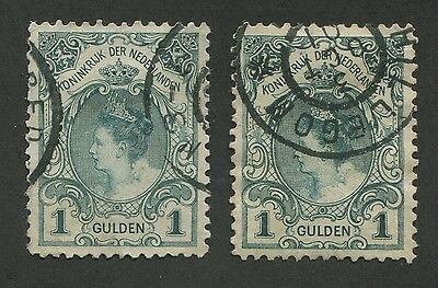 NETHERLANDS #83, 83a USED VF