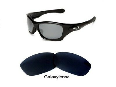 d59168f1637fb Galaxy Replacement Lenses For Oakley Pit Bull Sunglasses Black Polarized