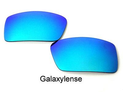 Galaxy Replacement Lenses For-Oakley Gascan Small Blue Polarized 100% UVA&B