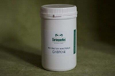NEW ShrimperNet RO water minerals GH8/KH4 1kg WITH FREE FULVO SAMPLE