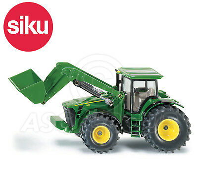SIKU NO.1982 1:50 Scale JOHN DEERE TRACTOR WITH FRONT LOADER Dicast Model / Toy