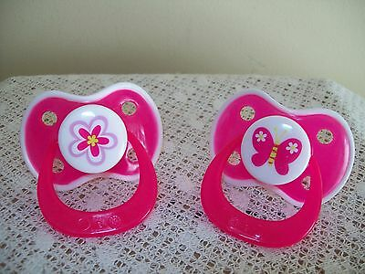 Pink Flower / Pink Butterfly Magnetic Dummy  4 / Doll