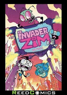 INVADER ZIM VOLUME 1 GRAPHIC NOVEL New Paperback Collects Issues #1-5