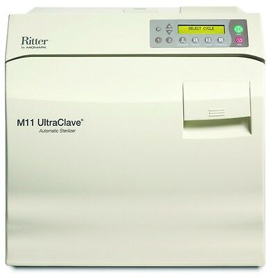 NEW ! Ritter / Midmark M11 Ultraclave 6.5 Gal. Steam Autoclave M11-022
