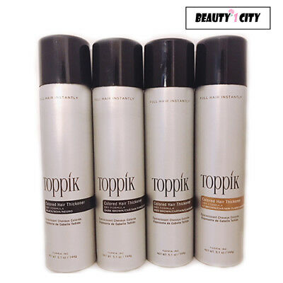 Toppik fullmore Colored Hair Thickener 5.1oz(BLACK / DARK / MEDIUM /LIGHT BROWN)