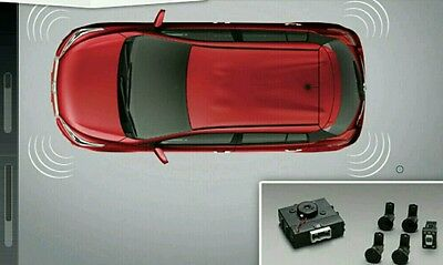 4X Rear Sensor Bumper Parking Set For Toyota Yaris 2014 Come With Manual