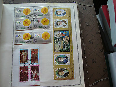OMAN - 15 timbres obliteres stamp