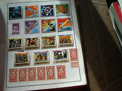 YEMEN - 22 timbres obliteres stamp