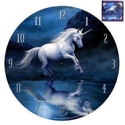Anne Stokes Moonlight Unicorn Clock