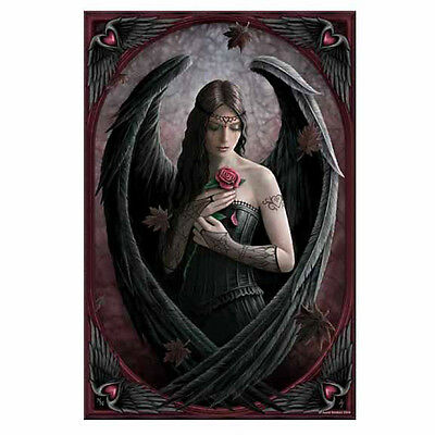Anne Stokes Angel Rose Large Art Tile