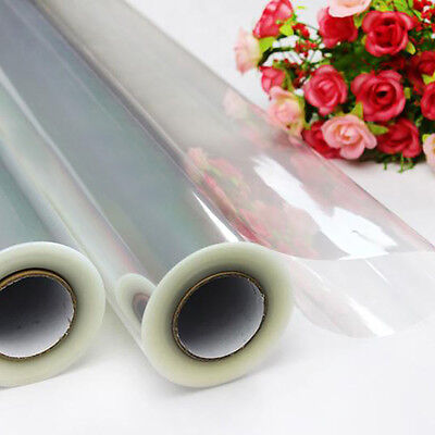 20M X50Cm Cellophane Roll Film Plain Clear Thick Florist Hamper Gift Wrap Craft