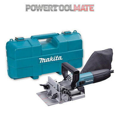 Makita PJ7000 240v Biscuit Jointer Kit 100mm Dowel Jointer 700w