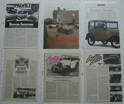 Austin Seven 7 - A Collection of 6 Articles from various Magazines