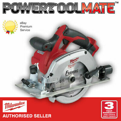 Milwaukee HD18CS-0 18v Li-ion Cordless 165mm Circular Saw - Naked - Body Only