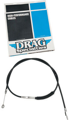 Drag Specialties 74-11/16 Inch Black Vinyl Clutch Cable For Harley 0652-1403