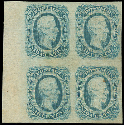 Confederate States of America, SCOTT CSA #12 BLOCK of 4, Mint, LH/NH!