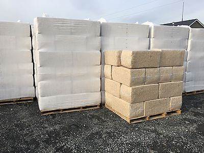 2 Bales of Shavings 100%Virgin Soft Wood Highly Absorbent Approx Sawdust 40-44kg