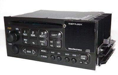 Chevy 1995 Suburban 1500 AMFM CD Player Radio Upgraded w Auxiliary Input on Face