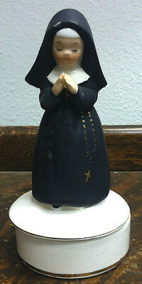 Haunted Vintage Metaphysic White Light Charging Container Nun