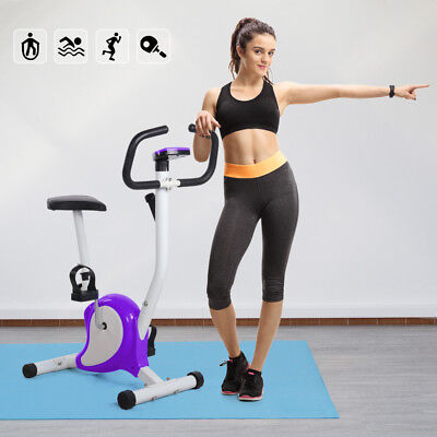 Aerobic Training Cycle Exercise Bike Fitness Cardio Workout Home Cycling Machine
