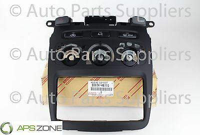 Genuine Toyota Highlander Heater A/c Control Panel And Switches Oem 55904-48110