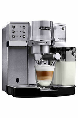 NEW Delonghi EC860M Pump Espresso Machine with Automatic Cappuccino Function