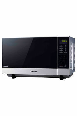 NEW Panasonic NN-SF574SQPQ Flatbed Inverter Microwave Oven: Stainless Steel