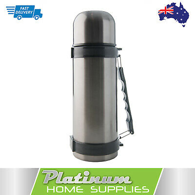 Thermos Vacuum Flask Insulated Stainless Steel 1.2L Bottle Travel Mug Coffee