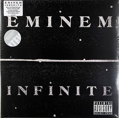 Eminem-Infinite,clear Vinyl,gatefold