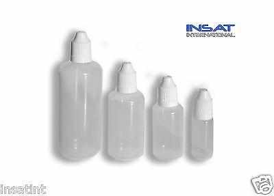 Ldpe Plastic Dropper Bottle - Thin Needle Tip - Child Proof