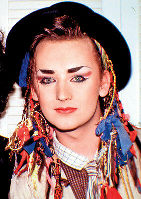 Boy George Culture Club Fantastic Young Poster