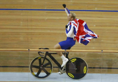 Chris Hoy Cycling World Champion 10x8 Photo #2