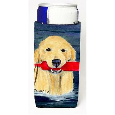 Carolines Treasures SS8868MUK Golden Retriever Michelob Ultra s for slim cans