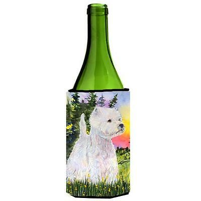Carolines Treasures SS1067LITERK Westie Wine Bottle Hugger 24 oz.