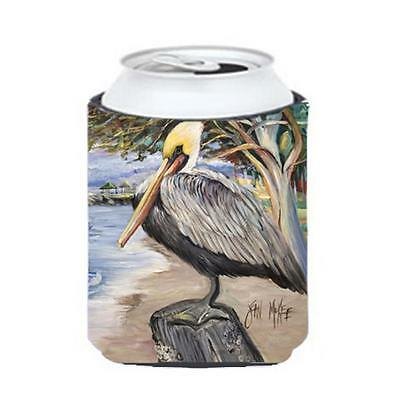 Carolines Treasures JMK1218CC Pelican Bay Can & Bottle Hugger