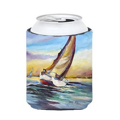 Carolines Treasures Horn Island Boat Race Sailboats Can & Bottle Hugger