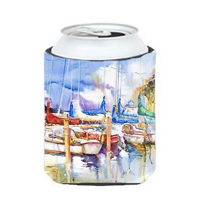 Carolines Treasures JMK1233CC Runaway Sailboats Can & Bottle Hugger