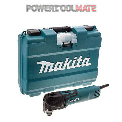 Makita TM3010CK 240v Oscillating Multi-Tool with Tool-Less Accessory Change