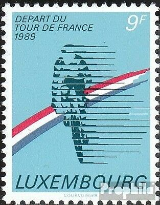 Luxembourg 1224 mint never hinged mnh 1989 tour de FRANCE