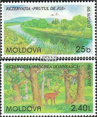Moldawien 305-306 mint never hinged mnh 1999 National