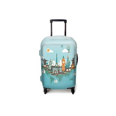 Suitcase case Cosmopolitan Tour brand Luggitas best protection for baggage