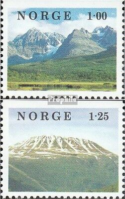 Norway 771Do-772Do mint never hinged mnh 1978 Landscapes
