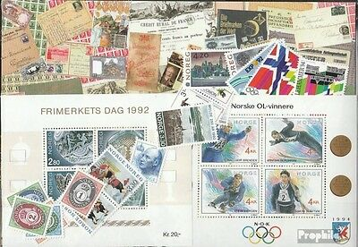 Norway 1992 mint never hinged mnh Complete Volume in clean Conservation