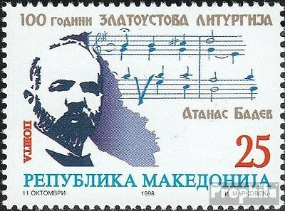 makedonien 141 mint never hinged mnh 1998 Zlatoustova-Fair