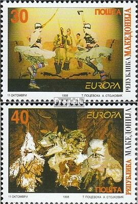 makedonien 128-129 mint never hinged mnh 1998 Celebrations